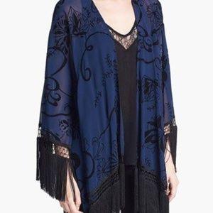 ASTR Fringed Kimono